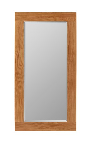 Brooklyn Contemporary Oak Large Mirror 110428865355174