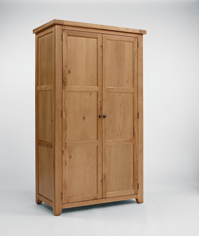 Photo of Devon oak full hanging wardrobe