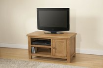 Shrewsbury Oak Standard TV Unit