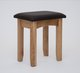Hereford Oak Dressing Table Stool 110994940642846