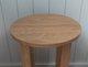 Lansdown Solid Oak Round Lamp Table 111109718972846