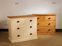 Mottisfont Painted 2 Over 2 Chest Of Drawers